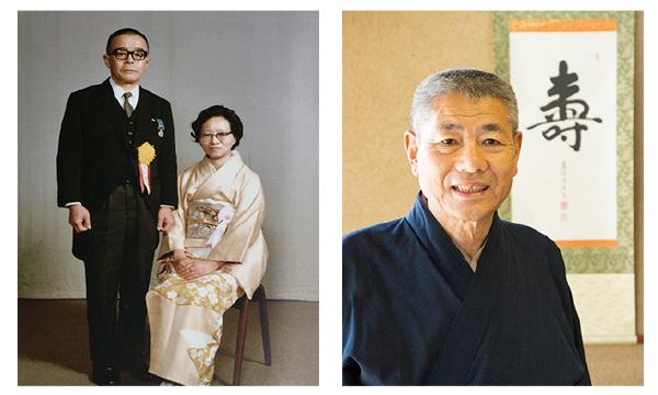 (写真左)武田重郎氏夫妻 (写真右)横尾昭男氏